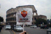 Roma la magica!!!!!⚽️ / La mia passione,il mio sfogo,un motivo per gioire,soffrire,urlare che non si puo' spiegare e capire se non si hala Romanel cuore!💛❤️👍 / by Manuela Mormina