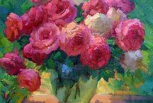 art flowerpaintings