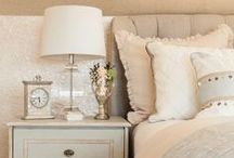 Styling A Nightstand / Ever have a bedroom that is beautiful but the nightstand is plain?  Here are some ideas to turn an ordinary nightstand into a piece of art!
