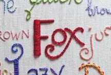 Embroidery/Sashiko/Stitchery