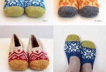 calze scarpe guanti