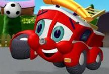 Finley - The Fire engine / FINLEY THE FIRE ENGINE, brought to you BabyToonz TV specially for your toddlers,  is a cartoon series about talking vehicles in a fictional town called Friendlyville.