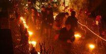 Les évènements Gersois / Les vendanges aux flambeaux pour la Saint Sylvestre après un journée d'animations à Viella. Après les vendanges, le réveillon dansant se déroulera dans la bonne humeur soit à viella soit au château de Crouseilles