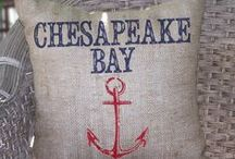 Bay Cottage Decor / ~Home away from home - the Chesapeake Bay~ / by Donna Robertson