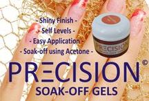 Precision Gel & Gel Polish / Precision is Planet Nails' Soak-Off Gel and Gel Polish range. A professional product in every colour you have ever wanted.  All of these products are used during treatments, and are available from Planet Nails Stores, as well as our online Shopping Cart. Click image to go direct to purchase link. #nails #gel #gelnails #gelpolish #colourgel #precision http://www.planetnails.com.au/