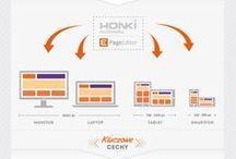 Infographics - HONKI Multimedia / Informacje w obrazkach.