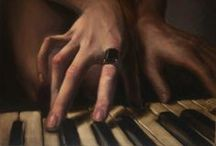 "Music / ""Music hath charms to soothe a savage breast, to soften rocks, or bend a knotted oak."" ― William Congreve"