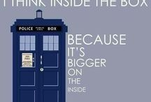 Doctor Who / It's smaller on the outside.