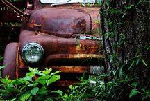 old trucks love...
