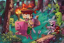 minecraft  / favorite game !