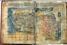 """Terrarum - Cartography / Terrarum ( from Latin plural of terra ''earth'') .  Cartography (from Greek  khartēs, """"map""""; and  graphein, """"write"""") is the study and practice of making maps, combining science, aesthetics, and technique."""