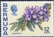 Postage stamps Flora - Plant community