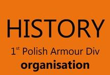 History - 1st P.A.D.  - organisation / organisation of the 1st Polish Armoured Division