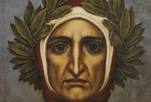 Dante Alighieri / Divine Comedy is a celebrated epic poem written by Dante in 14th century. The narrator is lost in a forest. The poet narrator meets Virgil who guides him through the world after death. Virgil takes him through Hell. They go through the base of the purgatory and he can see the terraces of it where the sins of those who are ultimately to be saved are cleansed away. Then Beatrice guides him to the ultimate heaven. The poem ends with his moment of illumination and the vision of trinity.