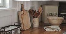 Farmhouse Kitchen Inspiration / Find rustic inspiration for your farmhouse kitchen.
