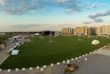 easigrass - Queen Elizabeth Olympic Park  / easigrass laid 30,000 sq m of artificial grass at the Olympic Park ahead of the Live Nation UK concerts. It was a record-breaking install, completed in just 52 hours.