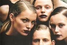 Dark & Dreamy / Dreamy beauty with a gothic twist
