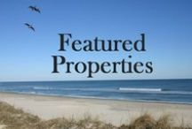 Featured Property Listings on the Outer Banks / This board shows featured property listings for sale from www.obxlistings.com on the Outer Banks of North Carolina.