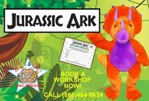 Now Featuring! / Follow our newest Noah's Ark Animal Workshop campaigns right here!