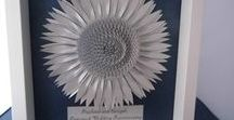 Paper flowers and 3D Art by Paper Flower Company