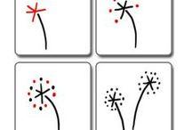 Hand Lettering Zeichnungen: How to / Zeichnungen zum Nachmachen