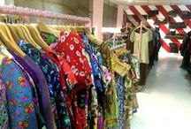 Vintage Fever / Vintage shopping; more checked shirts than you can shake a stick at.