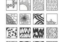 Zentangle / Zentangle Sammlung