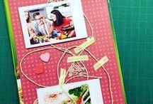 Küchengeflüster Scrapbooking / Ein Scrapbooking Rezeptbuch, was gehört da rein? Das ist eine Sammlung an Scrapbooking Ideen zum Thema Kochen, Rezepte, Küchenparties und mehr. Was machst Du in Deiner Küche gern?