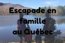 Escapades au Québec en Famille / Des idées d'escapades en Famille partout au Québec. Quoi fait au Québec en famille.  Ideas for family getaways throughout Quebec. What's happening in Quebec with your family?  #quoifaireauquebec #getaway #quebec #family #famille #travel