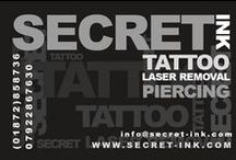 Tattoo's by Justin / Tattoo Artist and owner at Secret Ink Tattoo, Piercing and Tattoo Removal Studio in Truro, Cornwall.