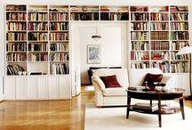 Våra platsbyggda bokhyllor / Rita upp din egen på www.platsbyggdbokhylla.se