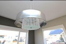 Unique lighting fixtures / Dreamscape Homebuilders
