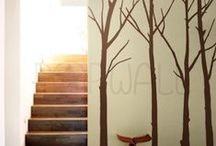 walls / ispirazioni per decorazioni murali