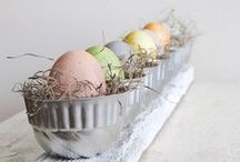 Easter / Everything you need for a gorgeous Easter - from fun tablescapes to classic Easter recipes.