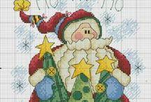 CS - Natale / punto croce
