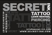 Tattoos by Tim / Guest Artist at Secret Ink Tattoo, Piercing and Tattoo Removal Studio in Truro, Cornwall.