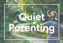 Parenting as an Introvert / This board is home to parenting advice and personal essays by introverted parents.