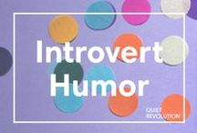 Introvert Humor / Pins that might make you laugh (or chuckle inwardly at least)!