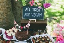 Ides for party planning! / Beautiful decor, delicious vegan food, and great ideas for throwing a rockin' party.