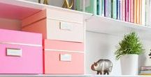 Organization Tips / Tips and Tricks for Organization | Cleaning & Organizing Your Home |