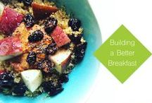 Fertility Food Recipes and Ideas: Breakfast / What we eat is one of the things women can control that can help us stay healthy and fertile. Breakfasts that include protein, fiber, healthy fats, minimally processed carbs (think whole grains, fruit, legumes, and vegetables) and loads of vitamins and mineral are the way to go for health, beauty, and fertility.
