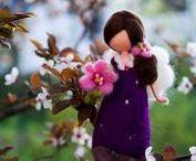 Dolls + Fairies (Art)
