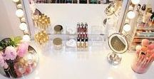 Makeup Room & Dressing Room Ideas / Design Ideas for a beautiful makeup and dressing room