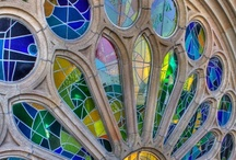 Stained Glass Treasures / who doesnt LOVE stained Glass???....each piece tells a story!!