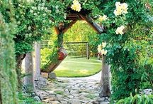 PEACEFUL GARDENS / We all should have our very own enchanted garden...