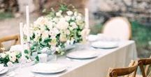 DESIGN :: Tablescapes / Wedding table design