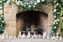 FLORAL :: Garlands & Wreaths / Wedding Floral Wreath, Table Garlands, Inspiration