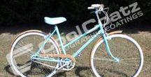 Vintage Skyway Bicycle Transformation