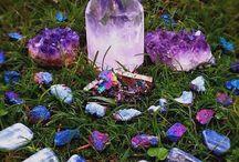 Gemstones & Minerals / by ★★ ☀ ★★