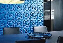 Pareti creative / Le pareti sono determinanti per l'estetica e la funzionalità dei vostri ambienti. Grazie all'ampia varietà delle soluzioni proposte, potrete cavalcare gli stili più pionieristici o dare un tocco tradizionale a ogni stanza.